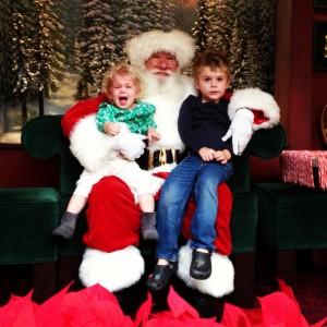 Santa w/ Orion & Juna